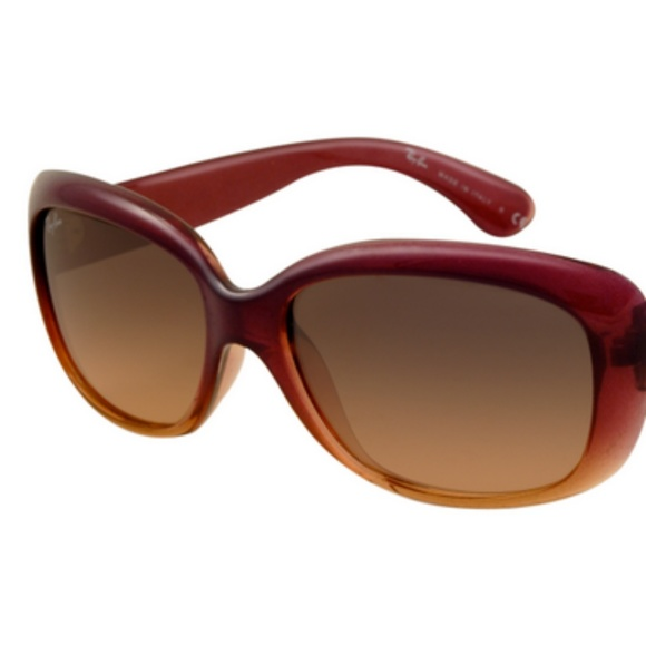 d2929ef6ce New Ray Ban RB4101 Jackie Ohh Sunglasses Wine Red
